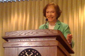 Rosalynn Carter at Book Event at the Library of Congress